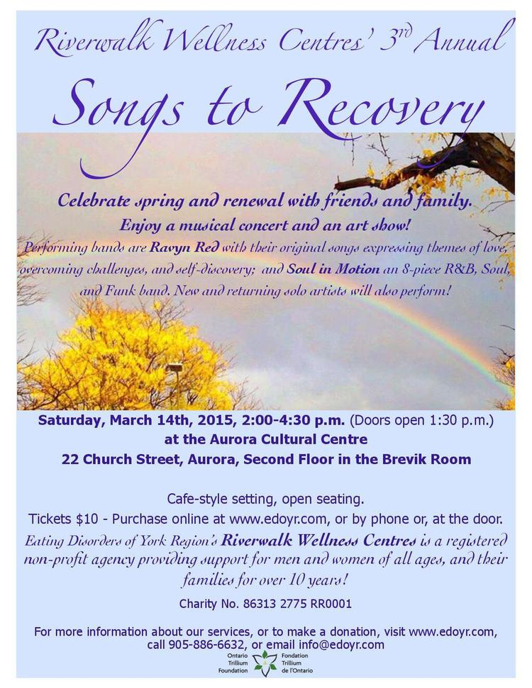 Songs to Recovery 2015