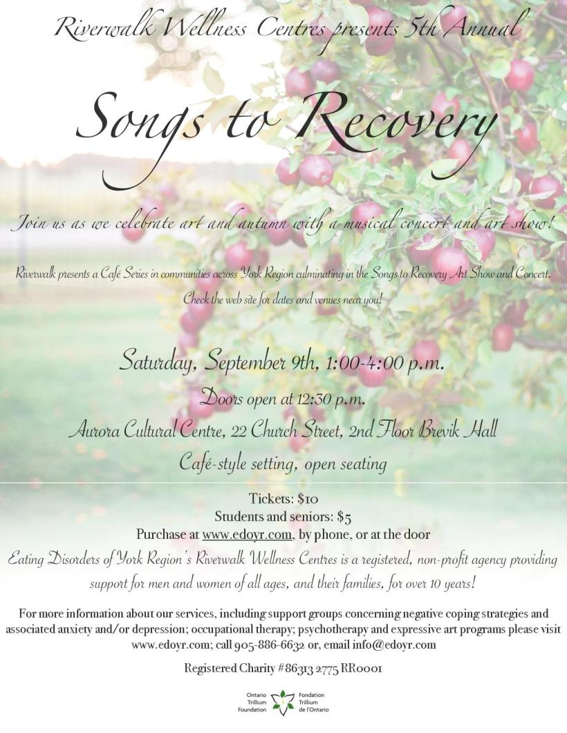 Songs to Recovery 2017