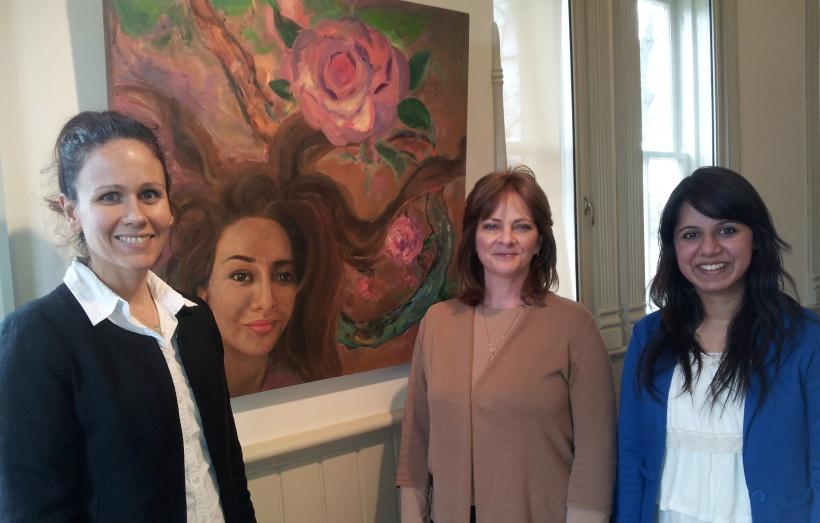 Elisabeth, Janice, Mehvish