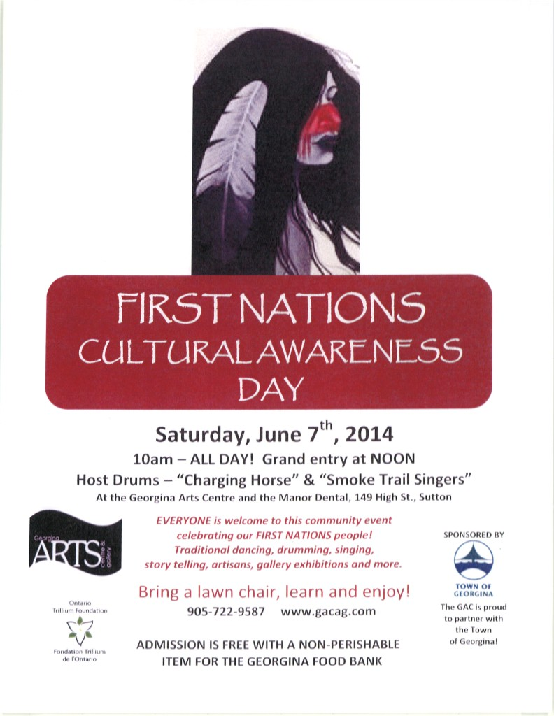 First Nations Cultural Awareness Day June 7 Sutton
