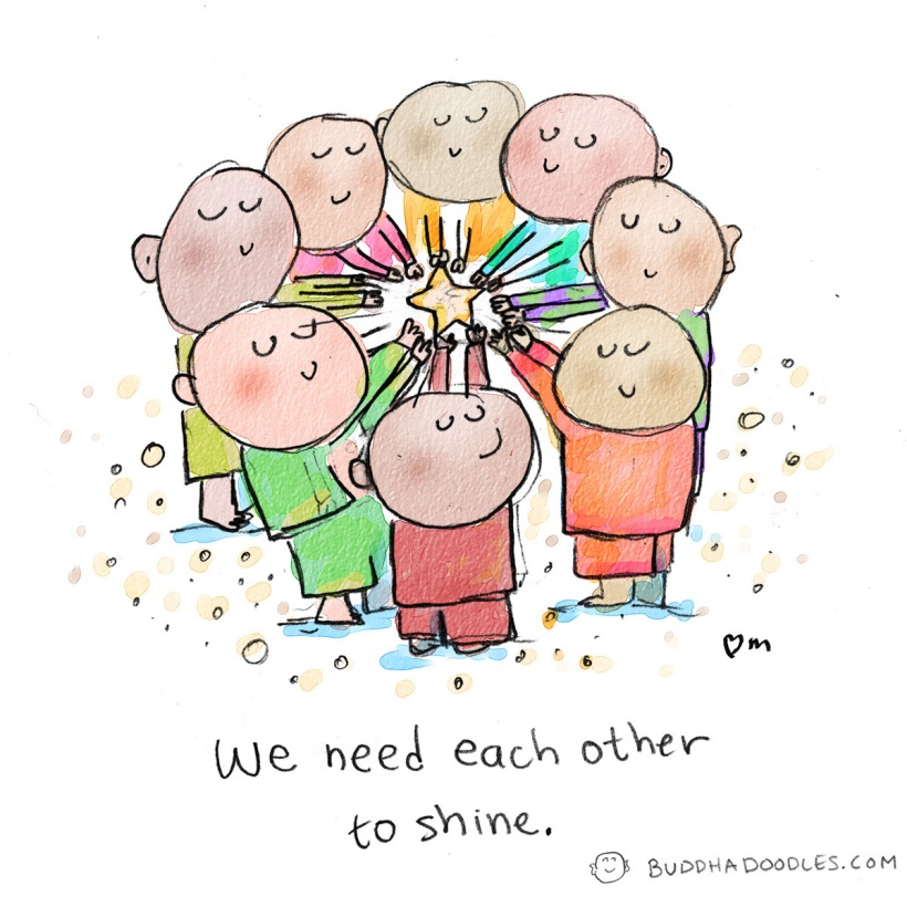 we need each other