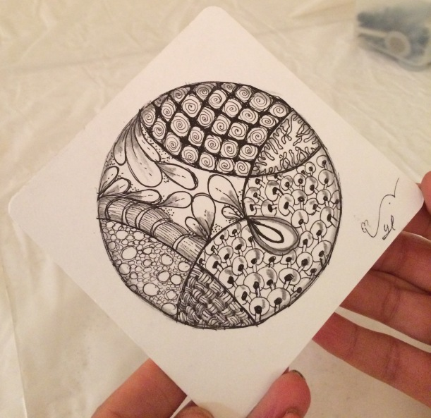 Syl zentangle