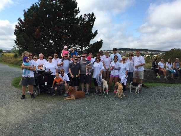 Folks gather to walk in Newfoundland